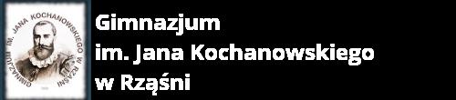 Gimnazjum im. Jana Kochanowskiego w Rząśni